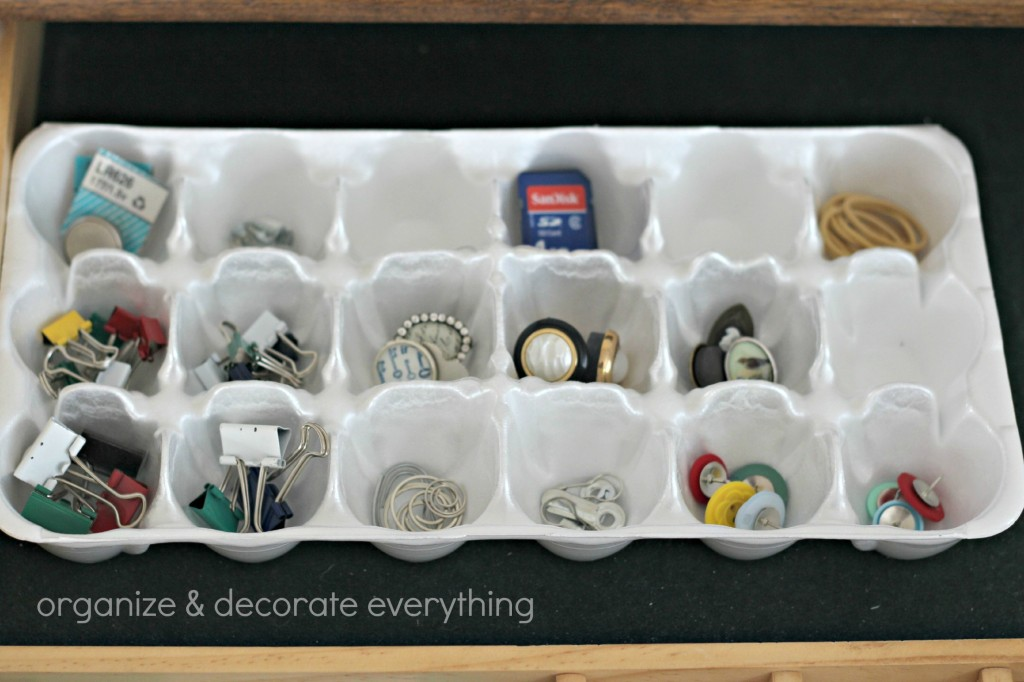 egg carton organizing 4.1