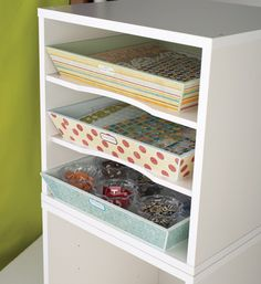 tray craft room