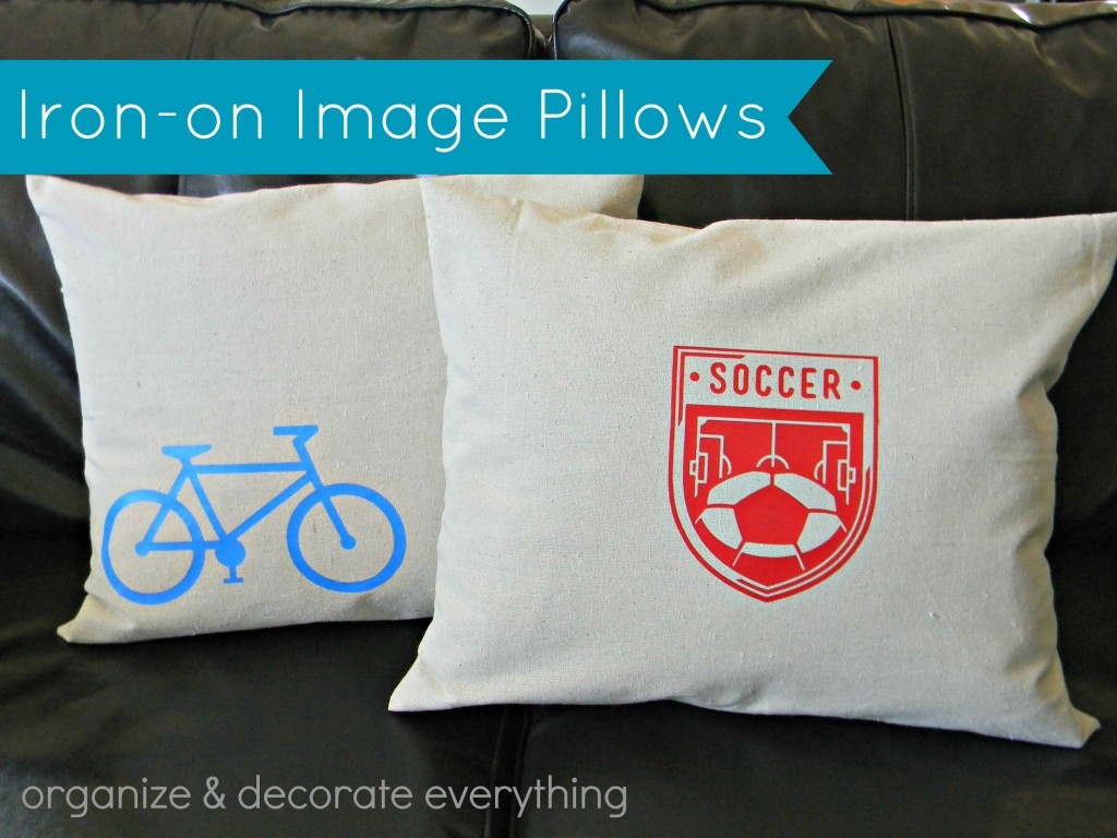 Cricut Iron-on Pillows 2.1