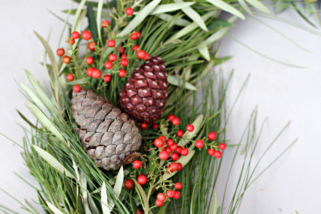 Natural Christmas Wreath 12