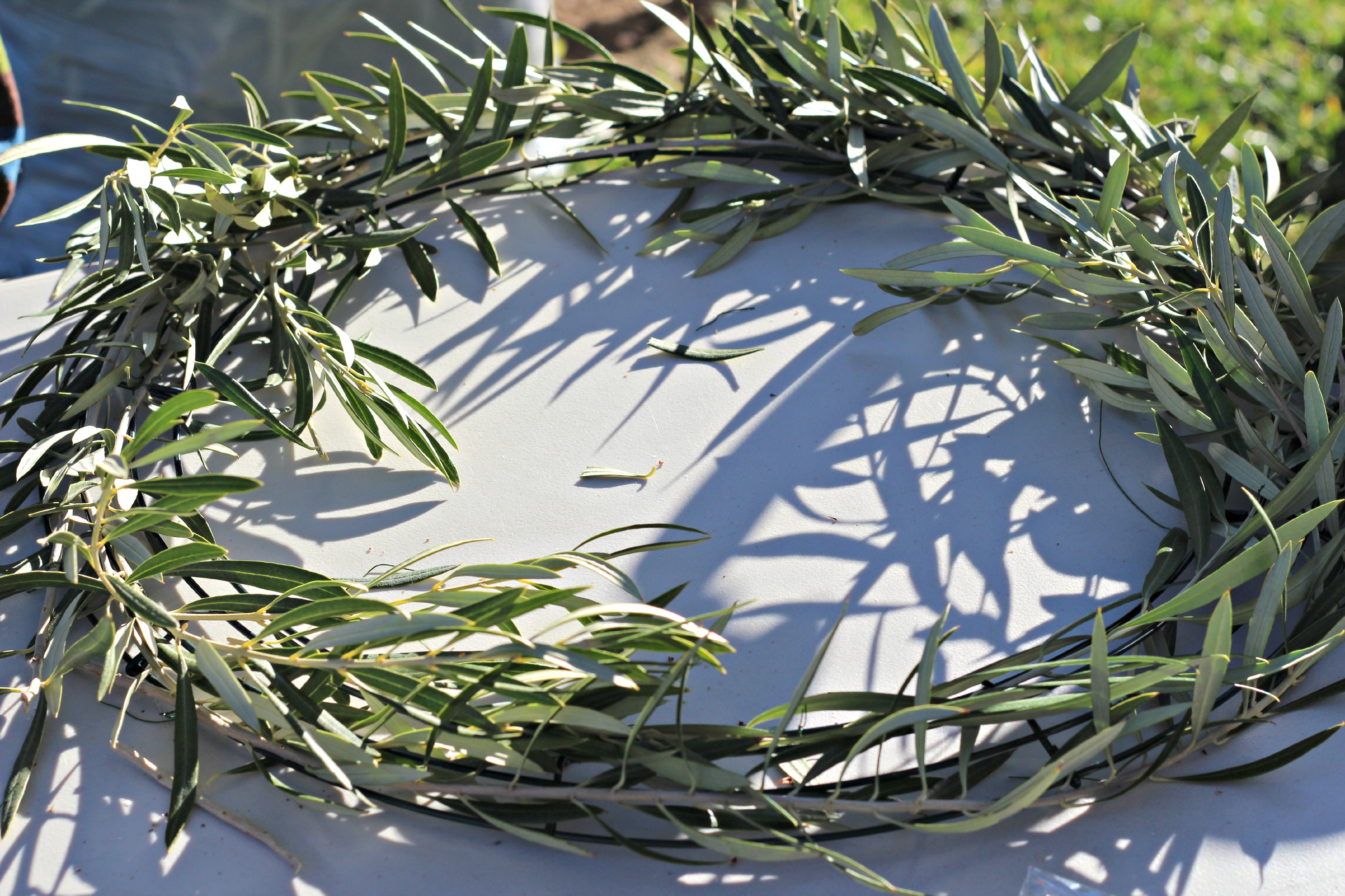 Natural Wreaths Decorating Natural Christmas Wreath 5
