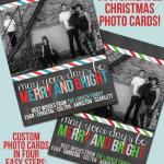 Christmas Card Template – Printables Contributor
