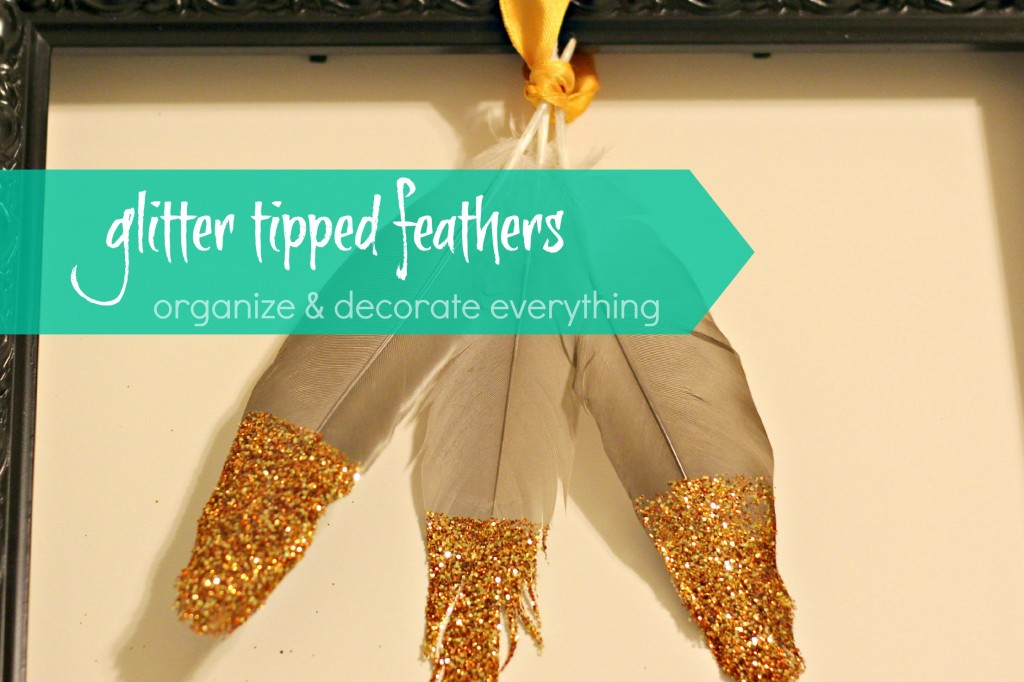 glitter tipped feathers 4.1