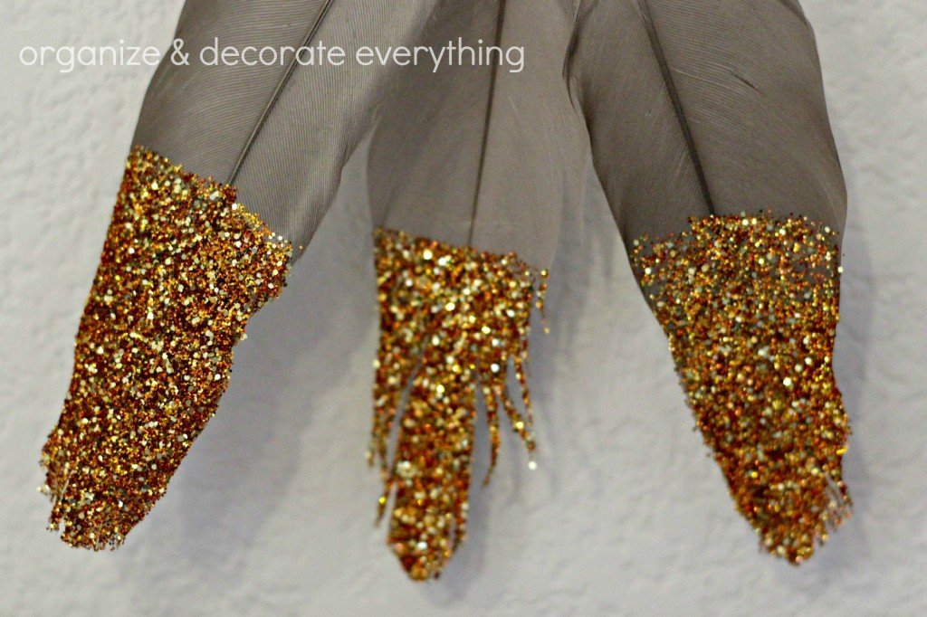 glitter tipped feathers 5.1