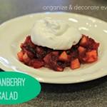 Cranberry Apple Salad