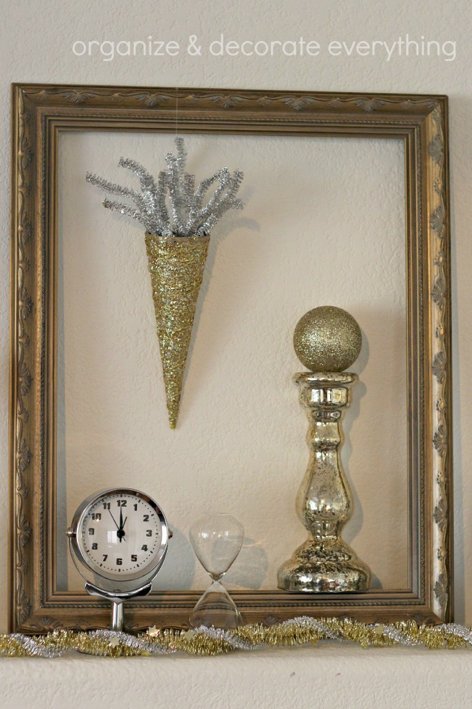 New Years Eve mantel 9.1
