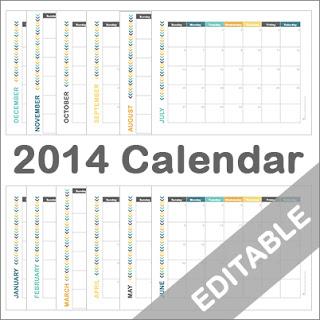 PrintableCalendar2014