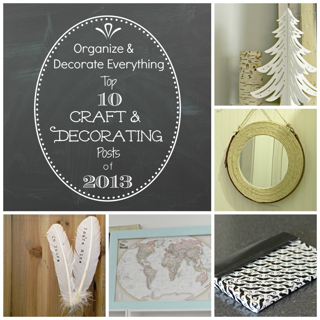 Top 10 crafts of 2013 collage