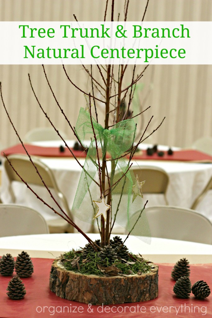 Trunk Slice and Branch Natural Centerpiece.1