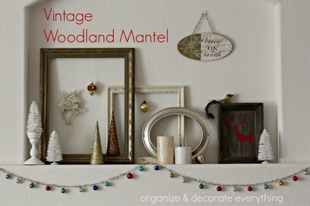 Vintage Woodland Mantel 2.1