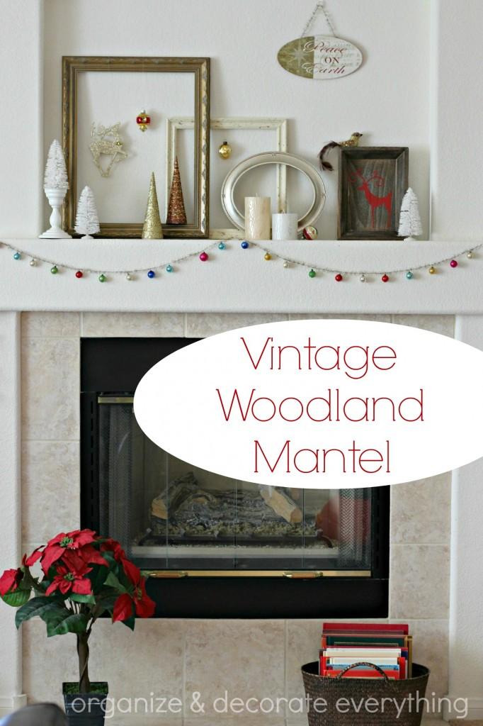 Vintage Woodland Mantel.1