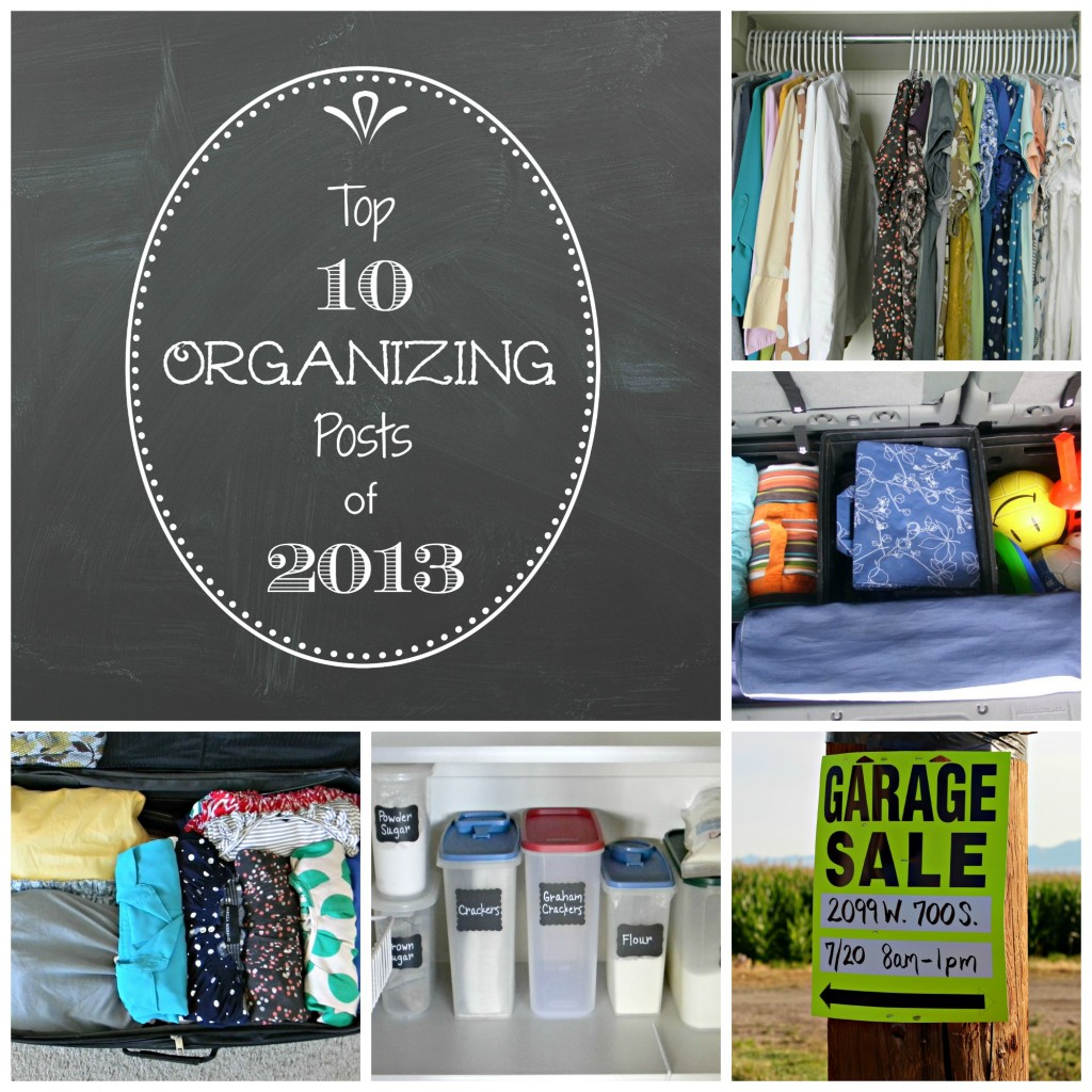 top 10 organizing 2013 collage