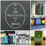 Top 10 Organizing Posts of 2013