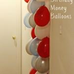 Birthday Money Balloons