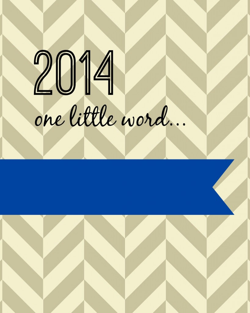 2014 one little word blue