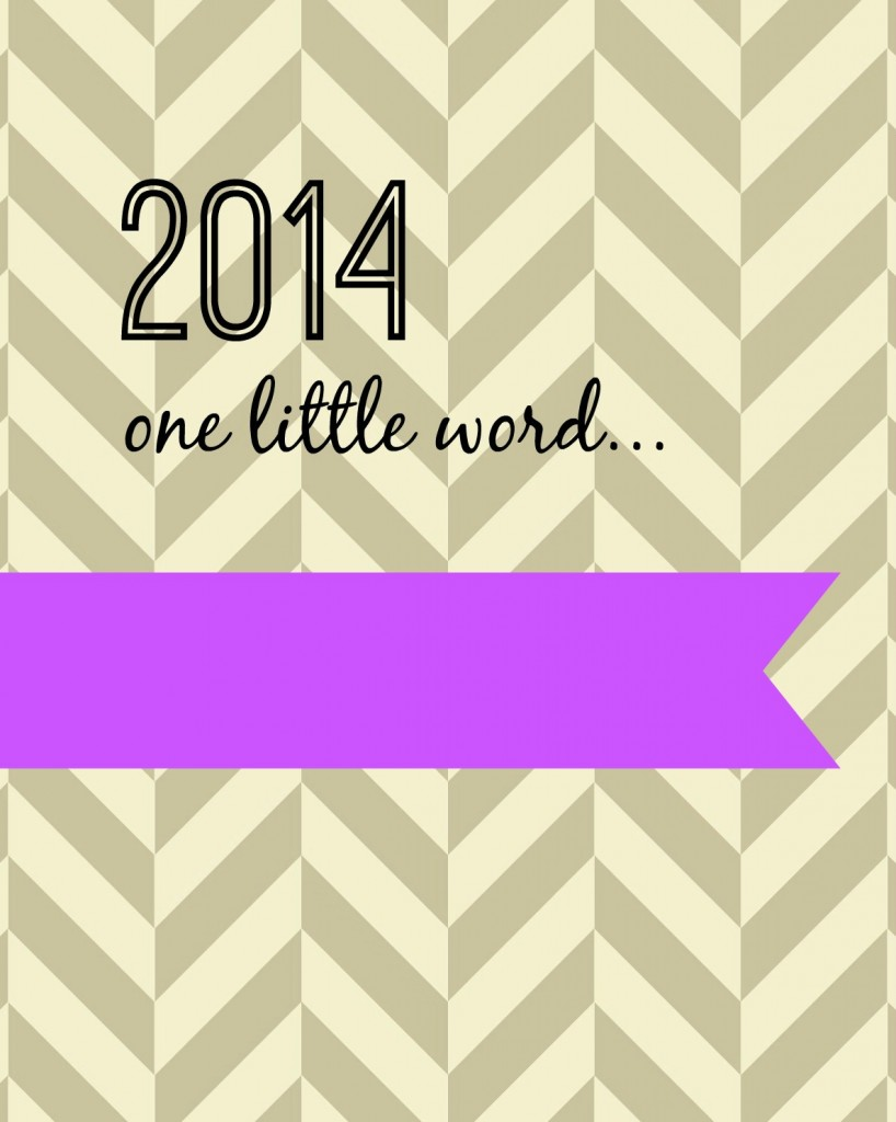 2014 one little word radiant orchid