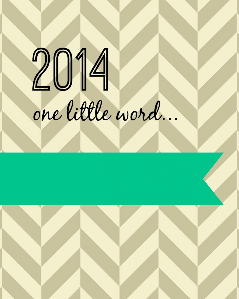 2014 one little word teal