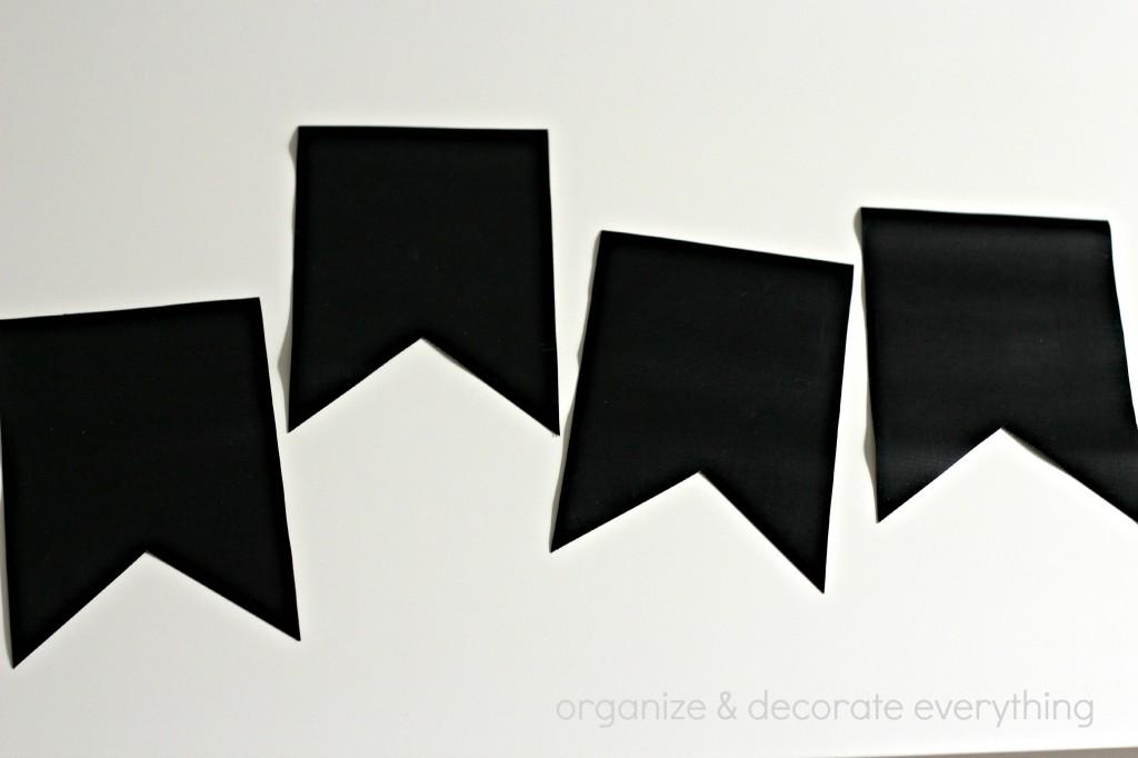 Chalkboard Fabric Banner 6.1