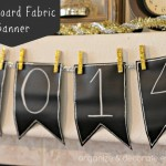Chalkboard Fabric Banner