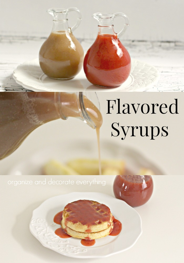 Delicious flavored syrups for breakfast and beyond