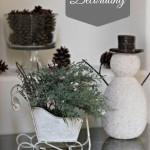 Wintery Decorating