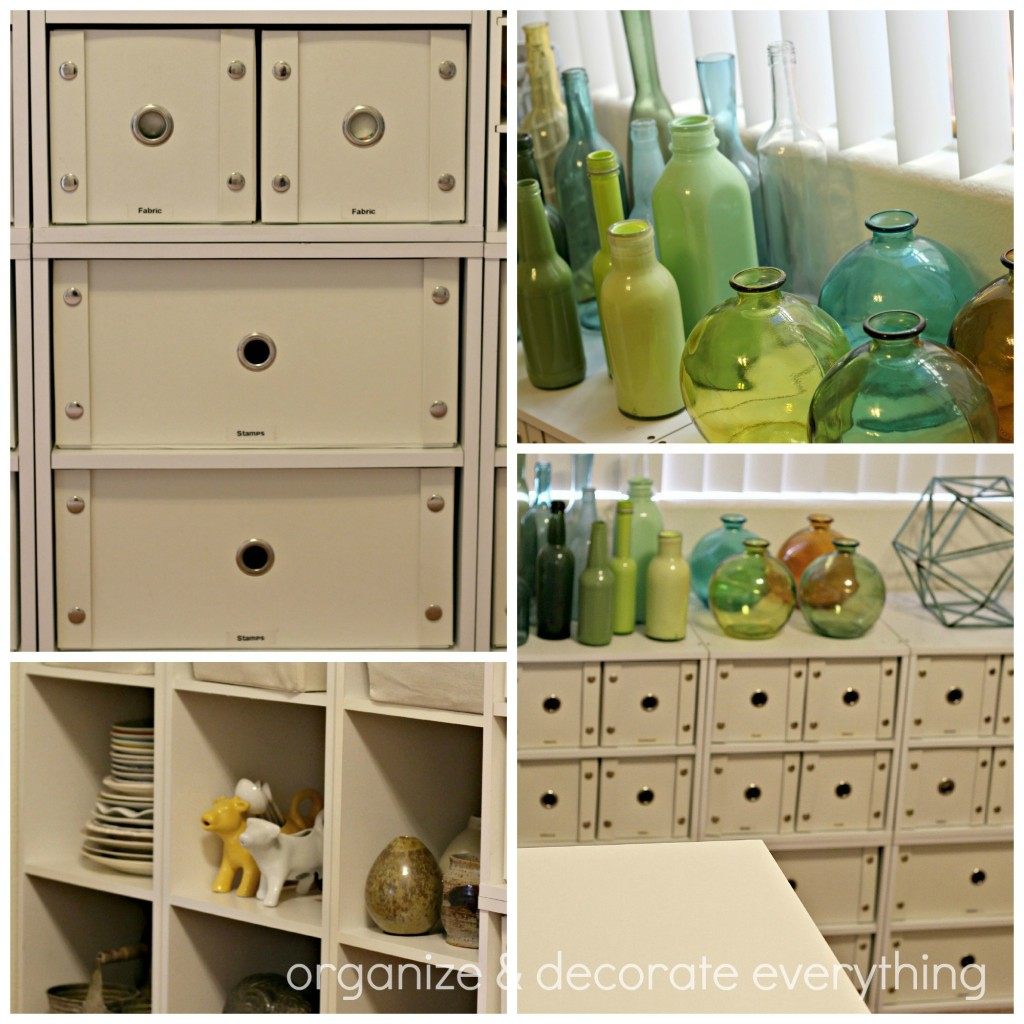 craft room tour cubbies