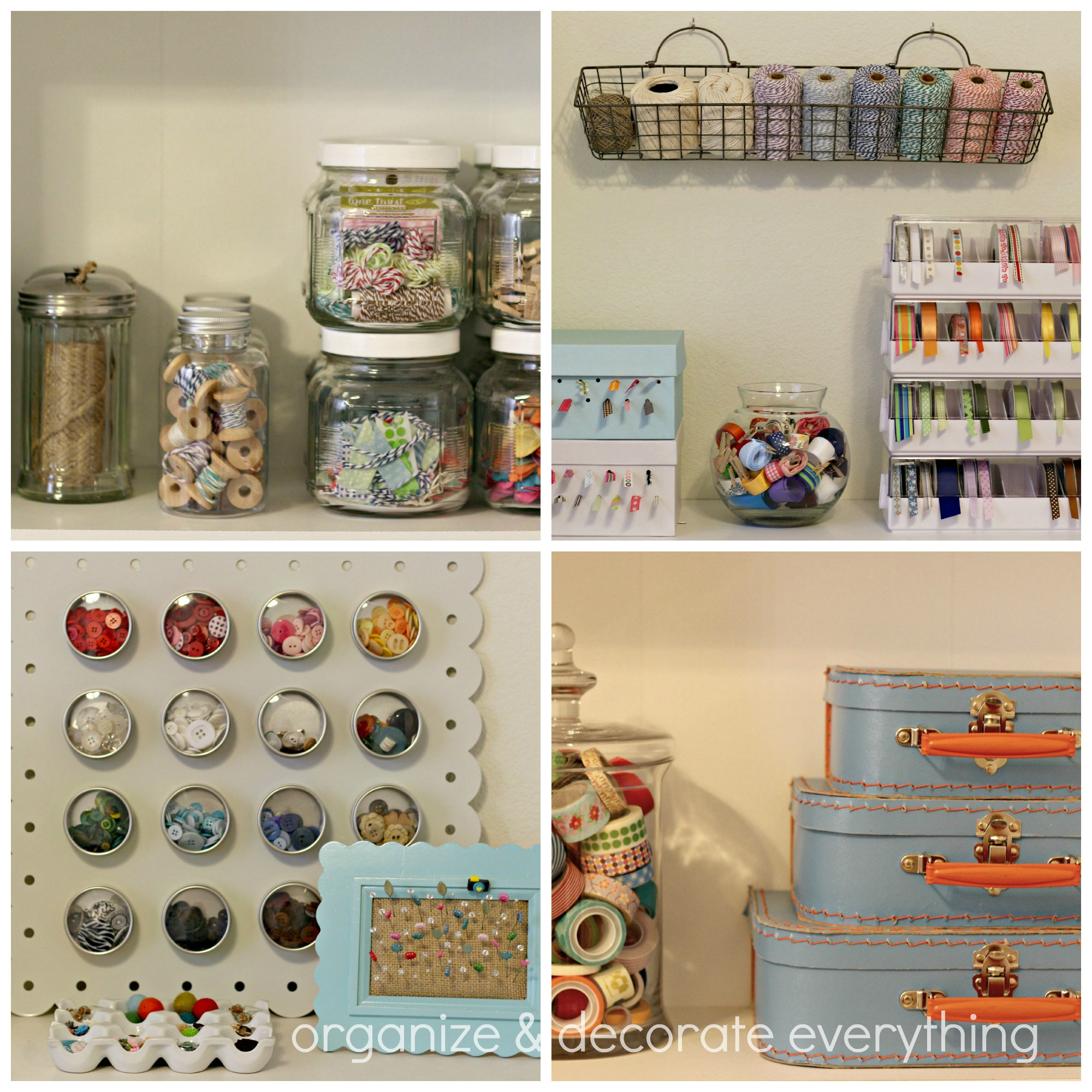 Craft Room Tour Organize And Decorate