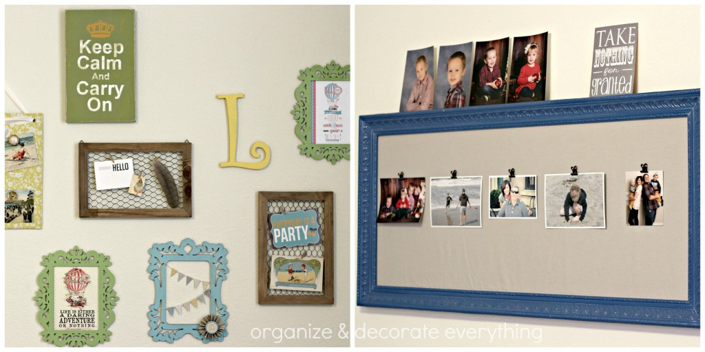 craft room tour walls
