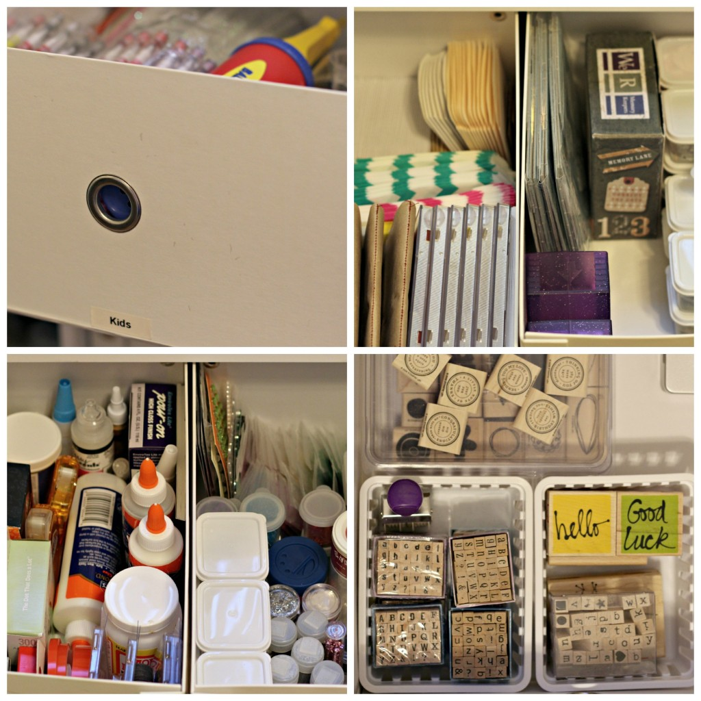 craft supplies drawers 2