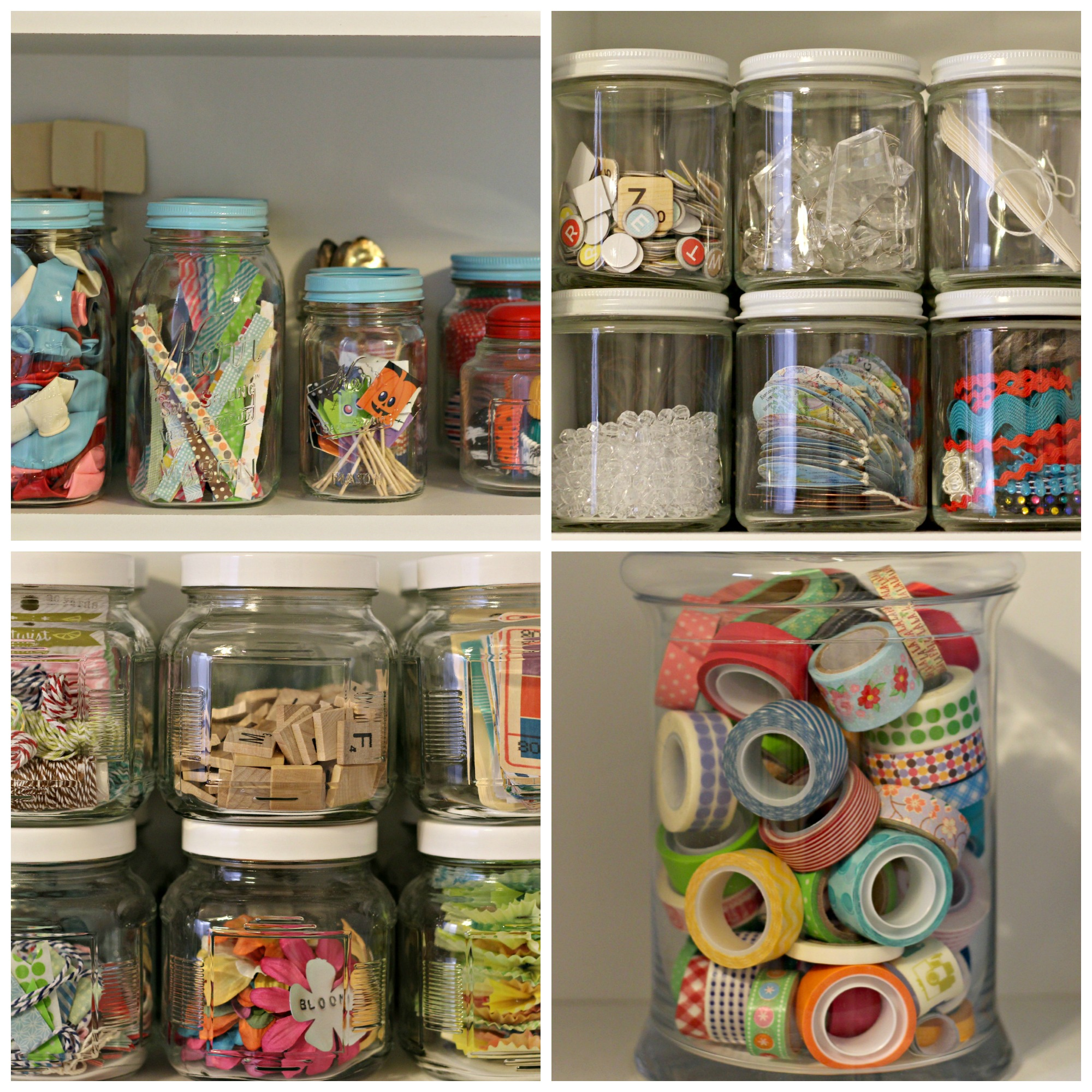Craft supplies storage organize and decorate everything Craft storage ideas