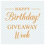 Personal Planner – Birthday Giveaway Week