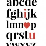I Heart U Printable