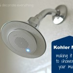 KOHLER Moxie – Making It Easy To Shower With Your Music