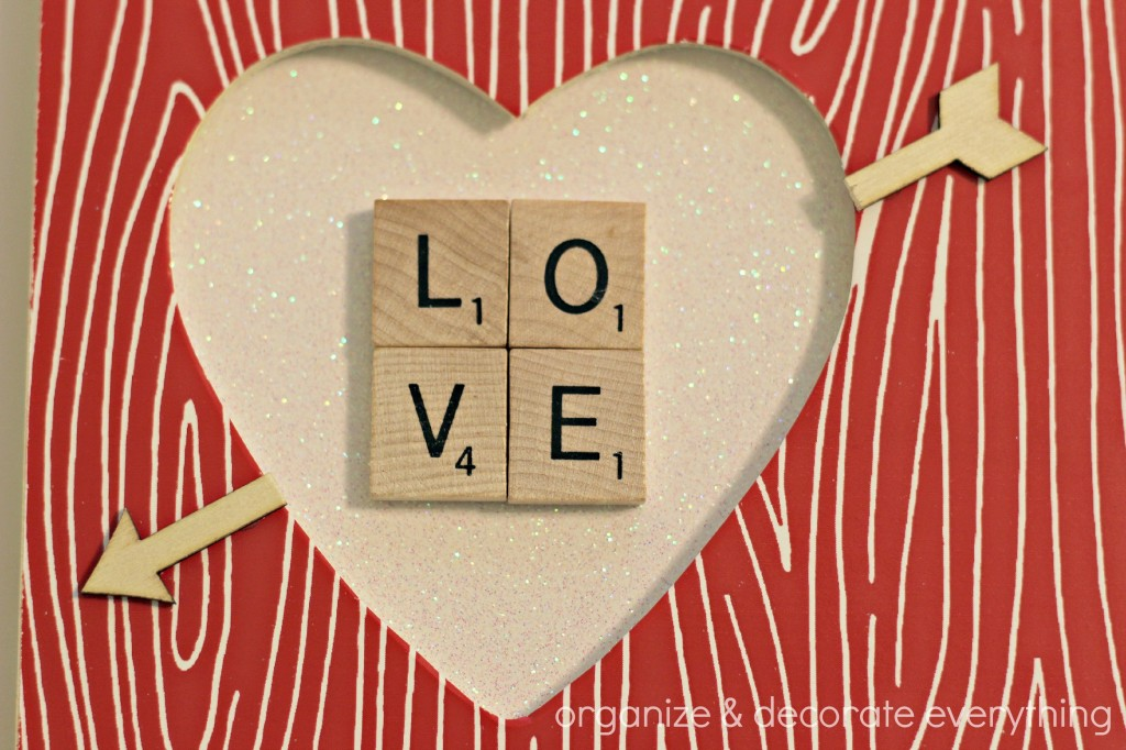 wood grain heart frame 10.1