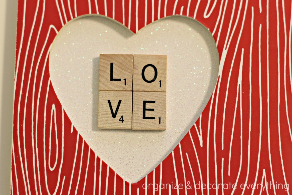 wood grain heart frame 9.1