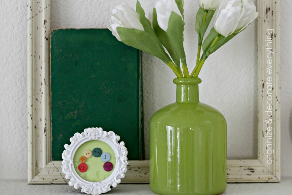 Green & Yellow St. Patrick's Day Mantel 5.1