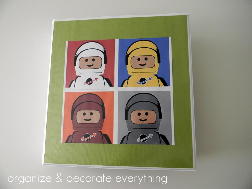 Lego bindertext