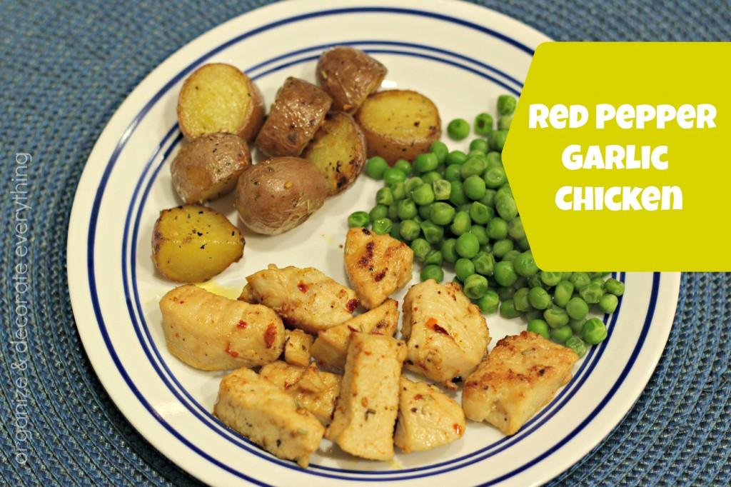 Red Pepper Garlic Chicken.1