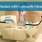 Guest Basket with Cottonelle Clean Care