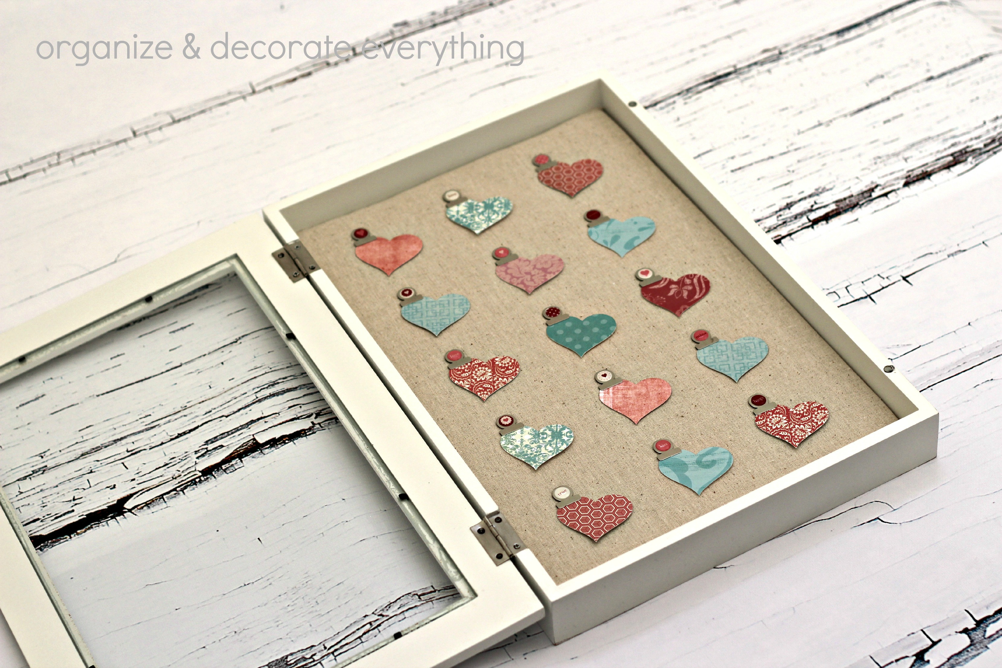 Heart Specimen Art from Organize and Decorate Everything ...