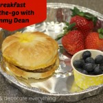 Breakfast On-the-Go With Jimmy Dean
