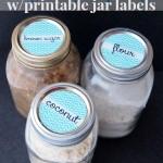 Printable Jar Labels – Printable Contributor