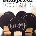 Chalkboard Food Labels – Party Contributor