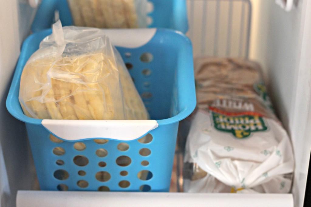 Freezer Organizing 5