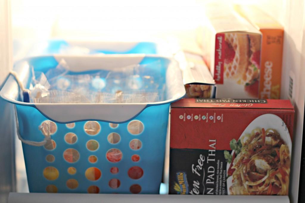Freezer Organizing 6