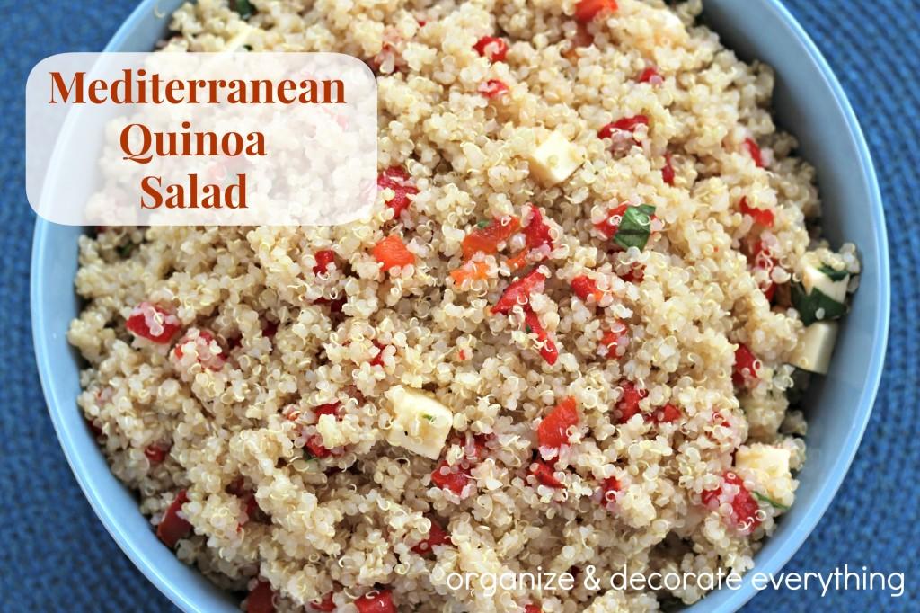 Mediterranean Quinoa Salad 2.1