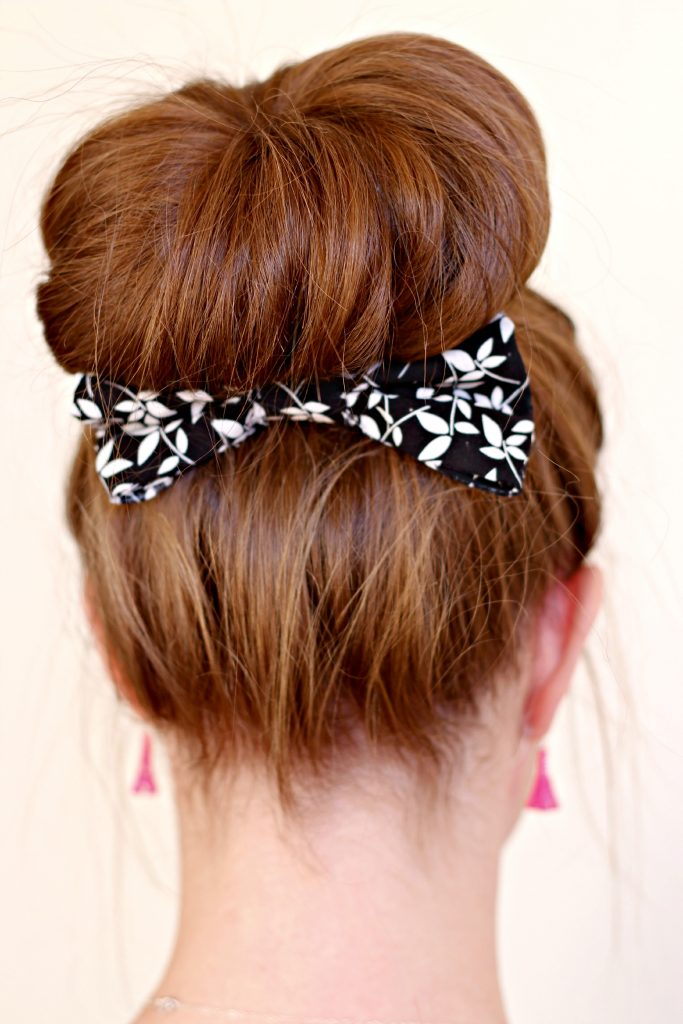 No Sew 3 minute hair bow 4