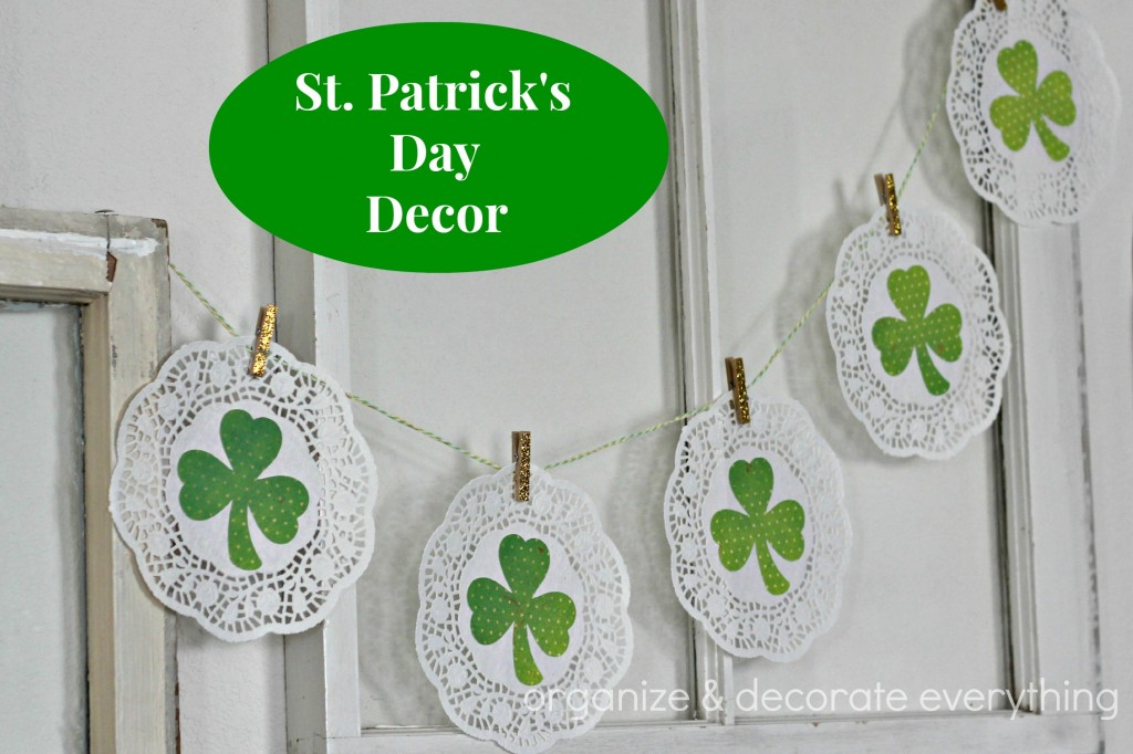 St. Patrick's Day decor 12.1