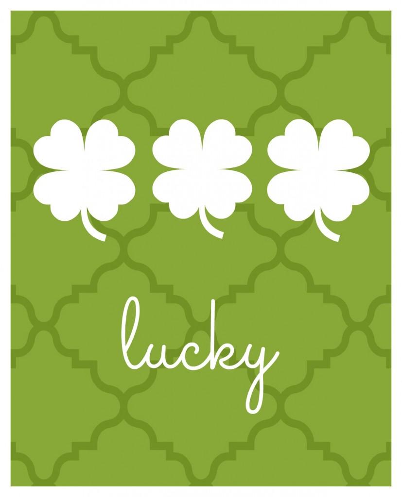 lucky printable