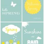 4 Spring Printables